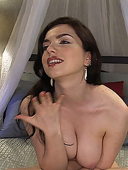 Anal Antics... Nicotine First time self ass fuck!