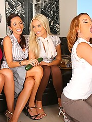 4 hot fucking milfs take cock sucking lesssons in this hot big dong 4 milf cumfiesta facial extravaganza