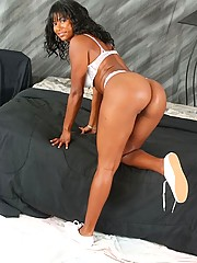Tight hard assed mature black babe