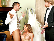 Hot babe secpond guesses getting married and fucks the best man instead