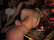 All girl Public Disgrace: Ariel X humiliated and used in gay bar