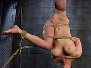 Cherry Torn in extreme suspension bondage!