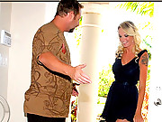 Hot mini skirt gets her luggage mixed up with a horny milfhunter in search of the lastest juice box to pop in these hot 4 vids