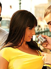 Hot ass euro tourist gets fucked in the ass and pusysy in this amazing dp 3some fucking cumfaced reality porn