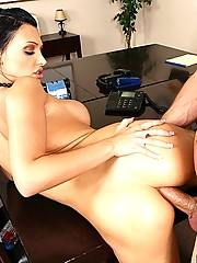 Aletta Ocean knows the meaning of team building by sucking huge cock
