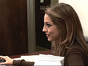 Jenna Haze Gets A Quicky In The Kunch Room From Co-worker