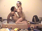 Blonde babe with her boyfriend make a homemade sex tape