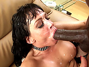 Tory Lane facialized after anal sex with Lex Steele\