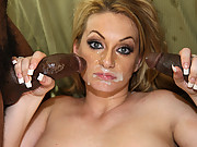 Aline Take On Three Big Black Meat Sticks In This Vid