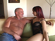Katsuni deep throats thick dick before getting her ass jammed and her mouth loaded