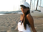 Katsuni shows off her assets in this behind the scenes look at her work