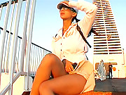 Asian Pornstar Katsuni takes vacation on boat with her Cameraman Frank