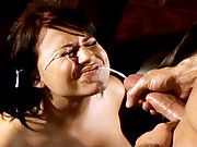 Eva Angelina facialized after sex with Nick Jacobs monster cock