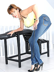 Tight jeans hot wife fetish mature