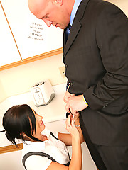 Ashli Orion Serves Up Her Hot Snatch For Co-Worker