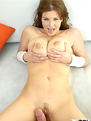 Curvy Cheif Sara Stone Packs Man Sausage Deep In Her Hot Pussy Making It Cum