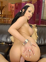 Aletta Ocean Gets Fleshy Tomahawk Splitting Her Pink Meat