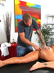 Flower Tucci gets a big cock up her mean ass