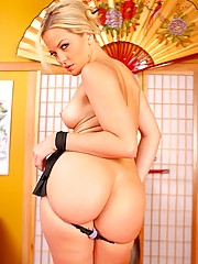 Alexis Texas with kung fu fucking titties