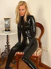 Crazyfetishpass rubber Latex Magdi
