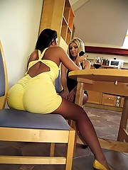 2 beautiful hot ass perfect titty babes share a cock in their asses and pussys in this hot 3some fuck fest  pics