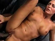 Hot cougar black creampie cumshot