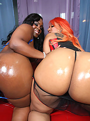 Super Nigga bones two hot black big booty bitches!