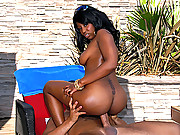 Juicy ebony bunny vanessa gets her hot black box fucked hard in these big ass big titty fucking vids