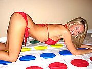 Playing twister naked