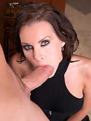 Brandi Edwards gets some cock from the delivery boy