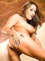Trina Michaels puts on a little light pussy play