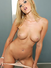 Carli Banks looking so cute and very nude