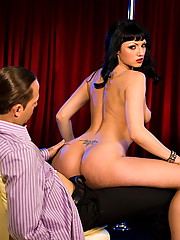 Ava Rose dawns her stripper outfit and gets some cock