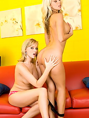 Carli Banks and Jana Cova maul each other