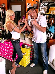 Beautifull ass perfect titts long leg sarbrina rose gets pounded hard after trying on some shoes at the store in these hot reality porn pics and big movie