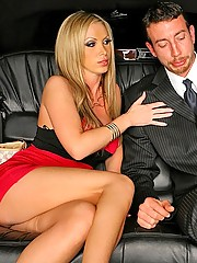 Smoking hot big tits porn star carmel moore gets tired of her husband and fucks her limo driver in this hot ass long leg cumfaced update