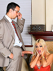 Carmel moore needs to satisfied her obsession with big cocks so she fucks her shrink