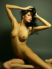 Pretty sexy babe with a rope posing pictures