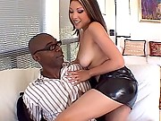 Nautica Thorn is a nasty Asian who loves big black cock