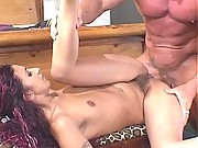 Antonette is a Latina who loves the blowjob and the creampie