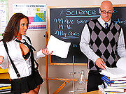 Capri and Jayden fucking Johnny Sins huge cock