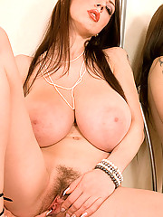 Huge Tits Masturbating