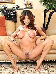 Beautiful mom gets nude and shows off her older beaver and perfect cougar tits