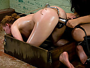 Hot Asian dom fucks new girl with electricity, making her cum from being shocked. Pussy licking, nipple clamps and orgasms are demanded.