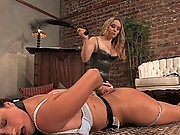 Domestic servant ass fucked and fisted.
