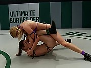 Two girls beat the shit out of each other. Winner made the loser eat her pussy!