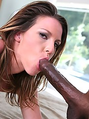 Katarina Kat Loves Long Black Cock Deep Inside Her