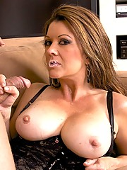Nasty Momma Raquel Devine Muches On Huge Bone Then Rides It Rough