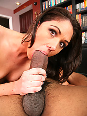 Katie Angel Slammed Hard With Thick Black Cock