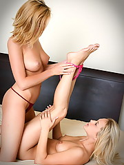 Carli Banks gets busy with her sexy little friend